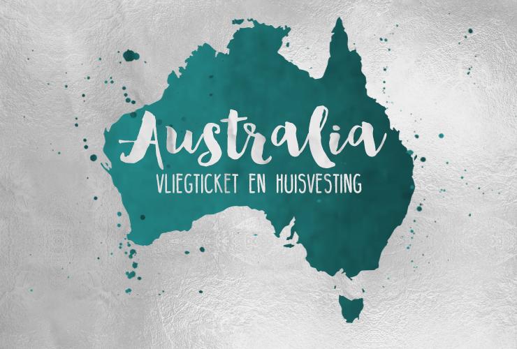 australië-vliegticket-huisvesting